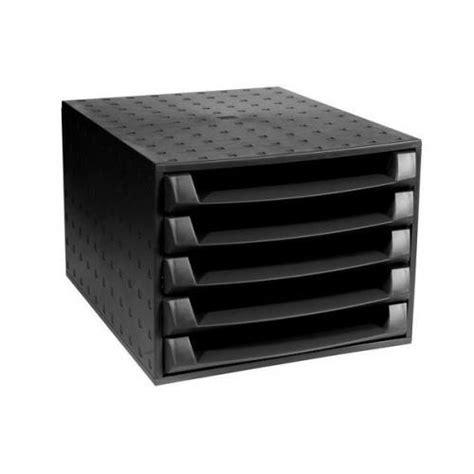 desktop plastic drawers exacompta recycled desktop plastic 5 drawer set w387 x
