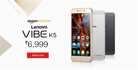 Lenovo Vibe New lenovo vibe k5 lenovo vibe k5 specifications features at