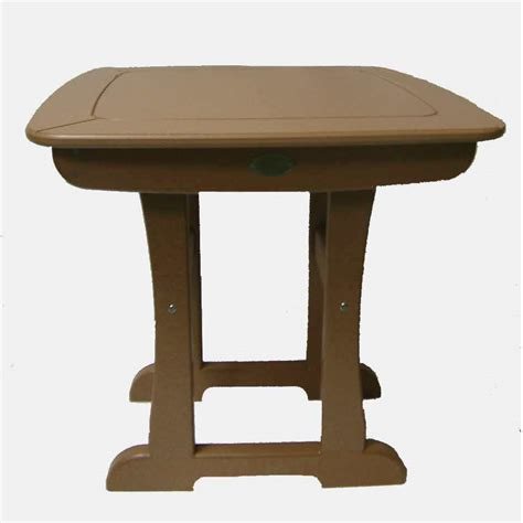 bistro dining table regular height dfohome
