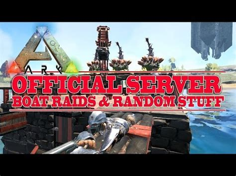 ark raid boat designs ark survival evolved boat raid me vs 5 doovi