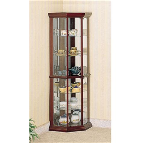 corner curio cabinet solid wood corner curio cabinet in