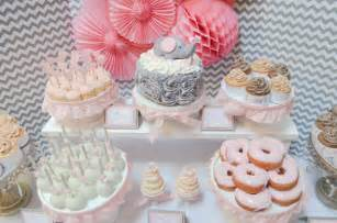 Christmas Light Spools Diy Dessert Table Baby Shower Pink Baby Shower