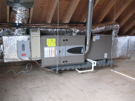 Attic Mounted Air Conditioning System - avoiding disaster ac in the attic home preservation
