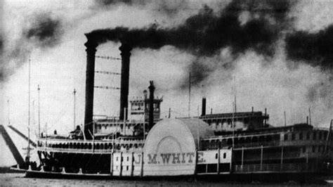 steamboat history steamboats the j m white history