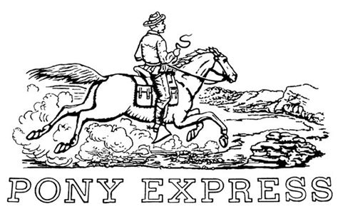 pony express coloring pages 96 best images about coloring pages on pinterest