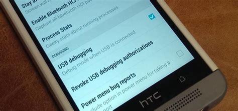 enable usb debugging   htc  htc