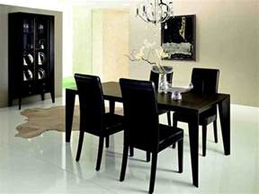 Dining Room Table Black by Black Dining Room Chairs Set Of 4 Decor Ideasdecor Ideas