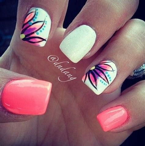 bright pattern nails 25 best ideas about bright blue nails on pinterest