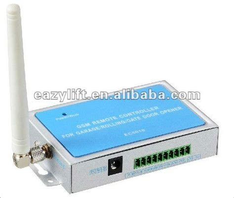 Open Garage With Cell Phone by 2013 Gsm Remote Cellphone Openers For Garage Doors