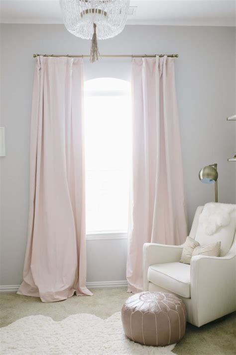 curtains for nursery room 17 best ideas about light pink bedrooms on pinterest