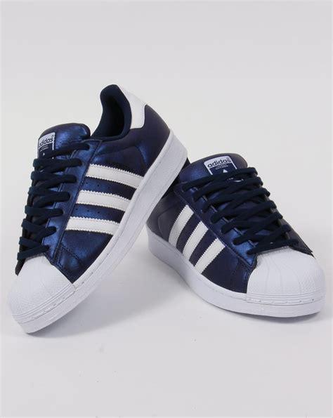 Adidas White Blue adidas superstar blue white freedom trail nl