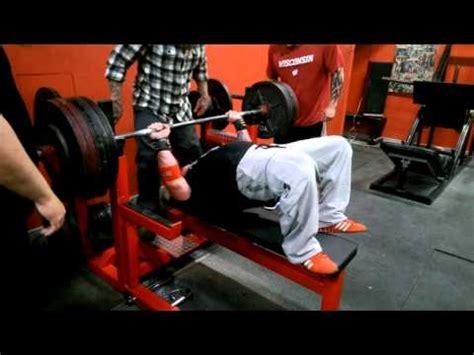 josh bryant bench press craig koffler 515 raw bench press at 198 bw youtube