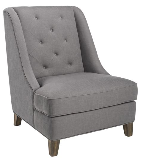 Grey Fabric Armchair by Selfridge Rhino Grey Fabric Armchair 100729 Sunpan