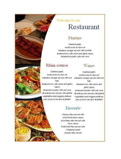 food brochure design templates free download brickhost 366b7885bc37