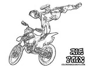 motocross coloriages des transports