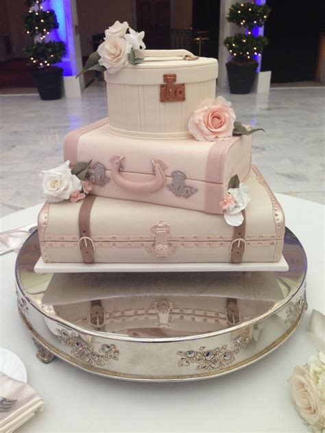 Suitcase cake!   Travel themed event   Pinterest   Style