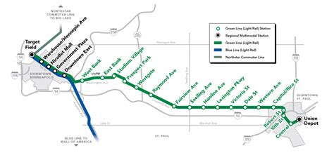 twin cities light rail map lrt beats bus in the central corridor streets mn