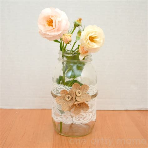 Jar Flower Vase by Casual Elegance Jar Vase