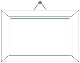frame outline template picture frame clip at clker vector clip