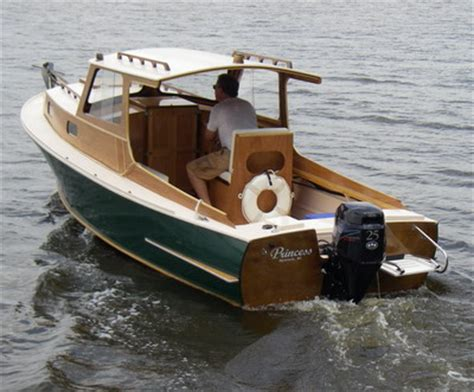 small lobster boat plans perfect  plan wooden boat