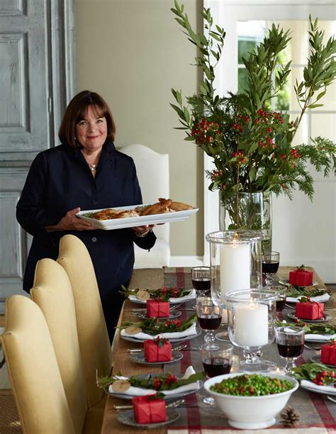 barefoot contessa christmas recipes why ina garten is the real queen