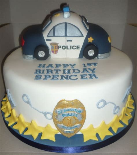 Mainan Walkie Talkie Robocar Poli 615 29 car cake with handcuffs walkie talkies and edible badge by cakery creation in