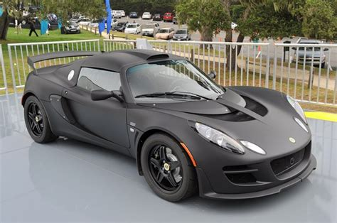 matte sport lotus exige matte black edition makes stealthy debut