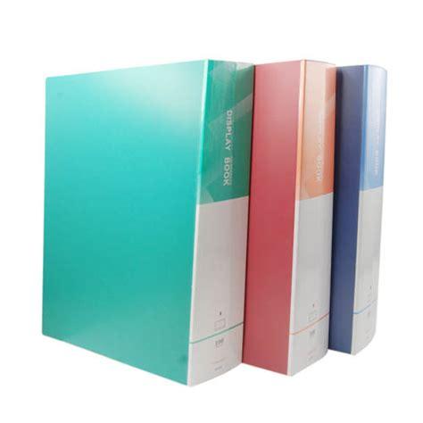 file folder book report blel a4 display book documents storage portfolio
