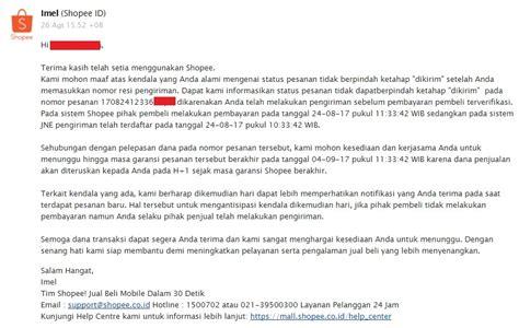email shopee curhat seller shopee tidak membayar subsidi ongkir