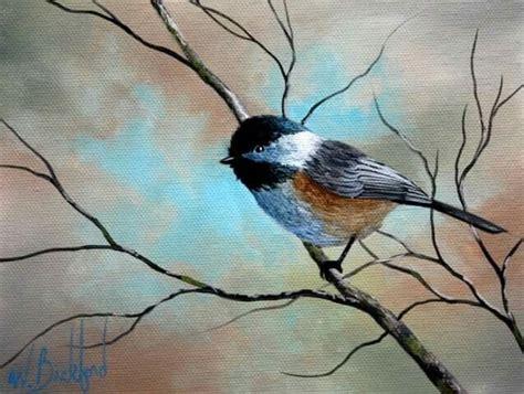 watercolor tutorial chickadee chickadee wb pinterest chickadees