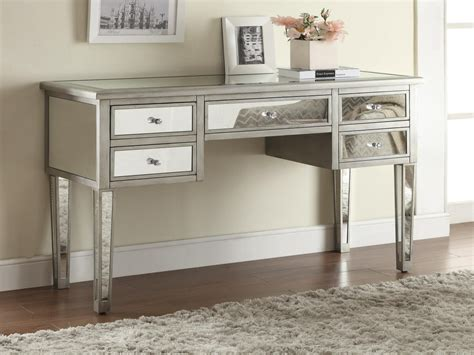 Mirrored Make Up Vanity by Makeup Dressers With Mirror Silver Mirrored Vanity Table