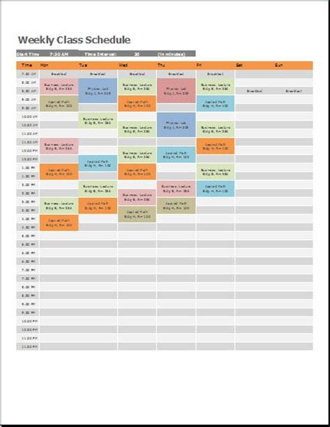 weekly class schedule template search results for editable calender template calendar