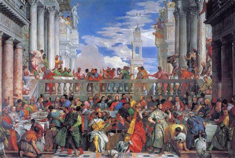 Wedding At Cana Veronese paolo veronese marriage at cana