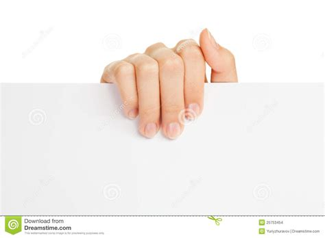 How To Make Paper Holding - s holding paper stock images image 25753454