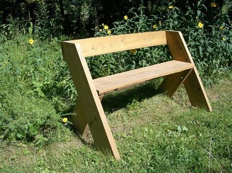 easy to build benches aldo leopold bench plans woodwork city free woodworking