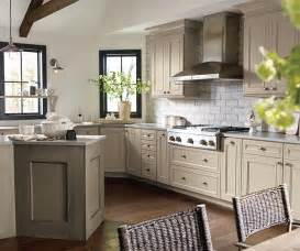 Kitchens With Maple Cabinets taupe kitchen cabinets decora cabinetry