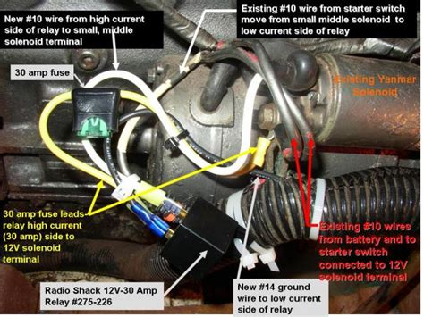 yanmar starting problems sailboatowners forums