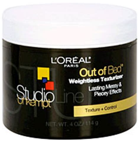 l oreal out of bed texturizer l oreal paris studio line unkempt out of bed texturizing