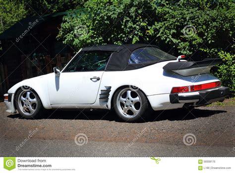 classic convertible porsche classic porsche convertible editorial photo image 58308176