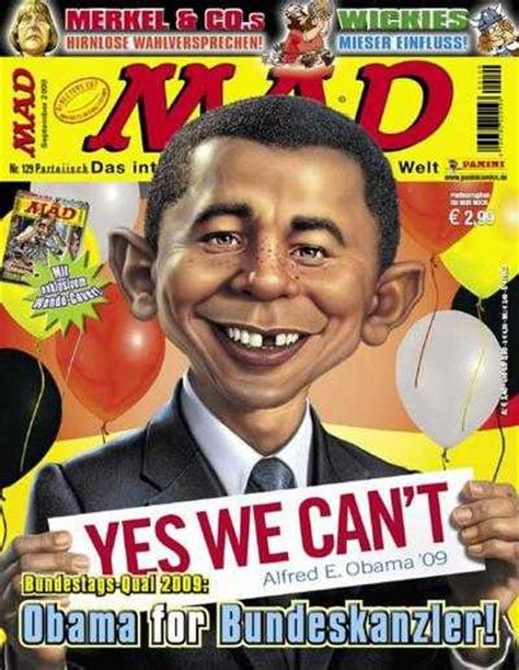 mad magazine obama cover mad 129 obama for bundeskanzler issue