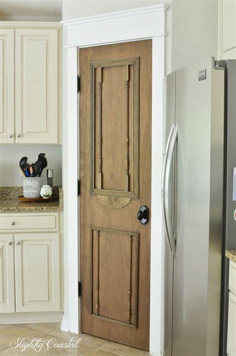 diy antique pantry door slightly coastal