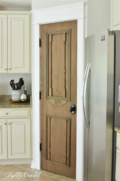 Antique Pantry Door by Diy Antique Pantry Door Slightly Coastal