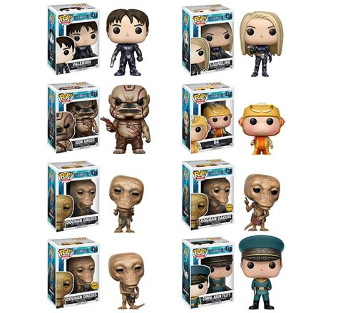 Funko Pop Doghan Daguis Valerian And The City Of A Thousand Pla valerian pop vinyl figures by funko actionfiguresdaily