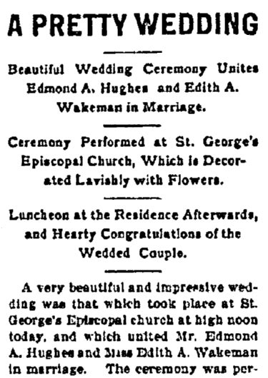 Love & Marriage: Newspaper Engagement & Wedding Announcements
