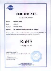 pin rohs certificate of compliance on pinterest