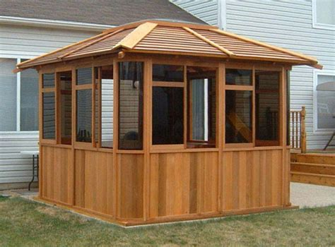 enclosed gazebo hardtop gazebos best 2017 choices sorted by size home