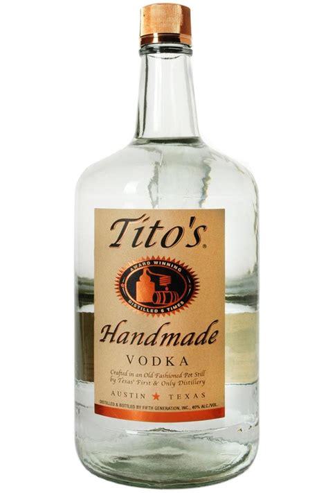 Titos Handmade Vodka - tito s handmade vodka haskell s