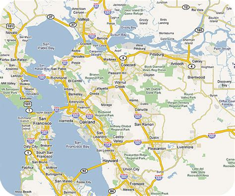 california map east bay map of east bay immaginieuropa