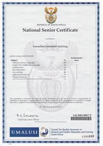 4. CC Greyling Matric Certificate