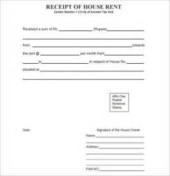 free rent receipts templates general receipt template 9 free for pdf